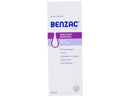 Benzac Daily Facial Moisturiser 118mL