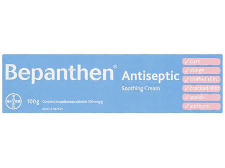 Bepanthen Antiseptic Soothing Cream 100g
