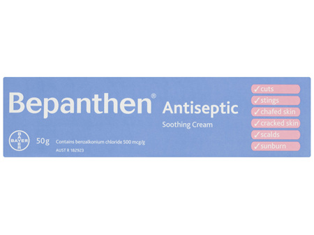 Bepanthen Antiseptic Soothing Cream 50g