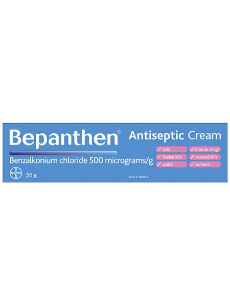 Bepanthen Antiseptic Soothing Cream 50g