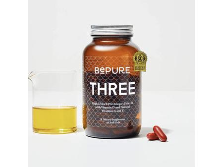 BePure Three Fish Oil 120 Caps