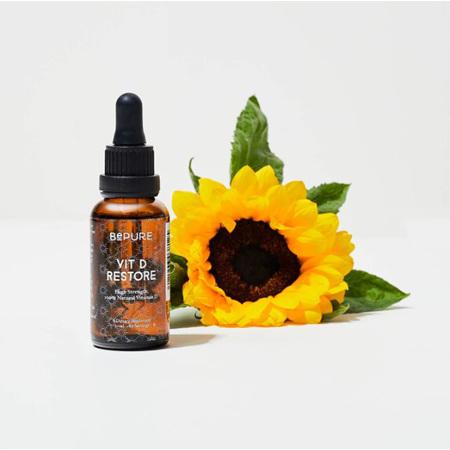 BePure Vitamin D Restore + Vit K 30ml