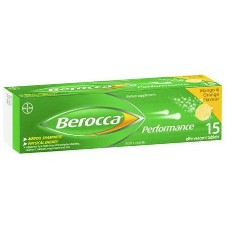 BEROCCA Perf. Mango & Orange 15s
