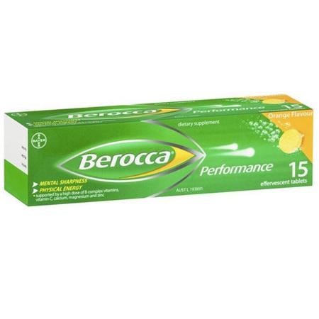 BEROCCA Performance Orange 15s