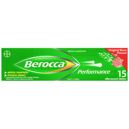 BEROCCA Performance Original 15s
