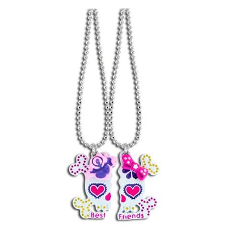 Best Friends Sugar Skull Necklace