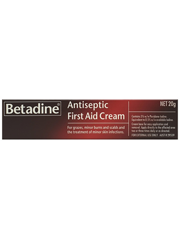 Betadine Antiseptic First Aid Cream 20g
