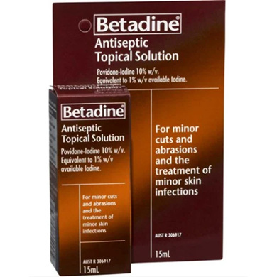 BETADINE Antiseptic Top. Sol. 15ml