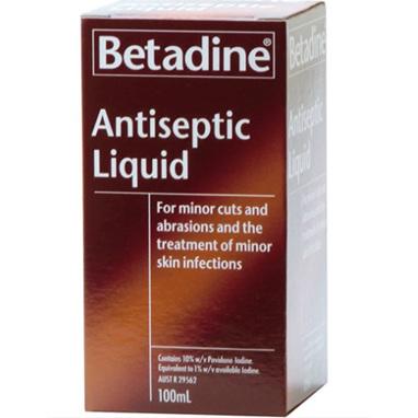 BETADINE Antiseptic Top. Sol. 100ml