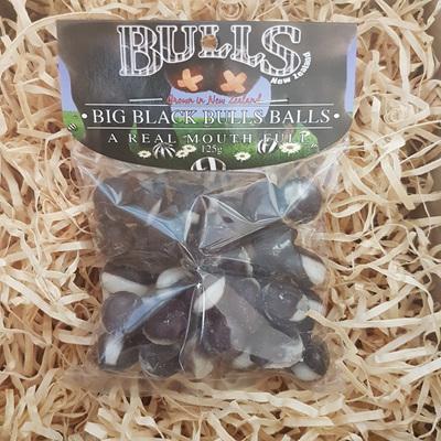 Big Black Bulls Balls