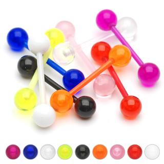 Bio Flex Flexible Barbell w/ Acrylic Ball