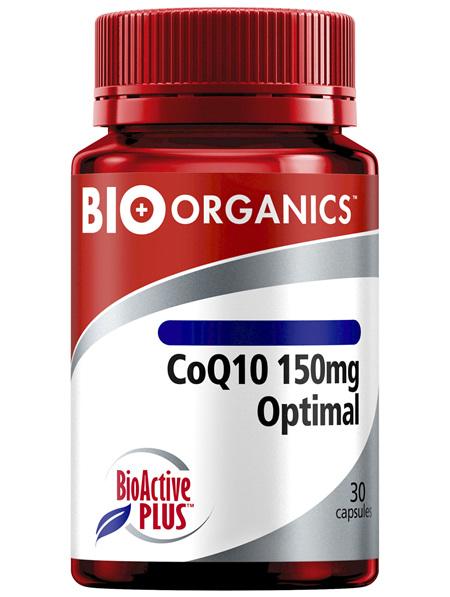 Bio-Organics CoQ10 150mg Optimal with Bio-Active Plus