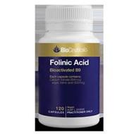 Bioceuticals Folinic Acid 120 caps