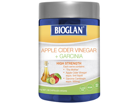 Bioglan Apple Cider Vinegar + Garcinia 90s
