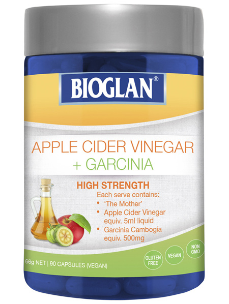 Bioglan Apple Cider Vinegar + Garcinia 90s