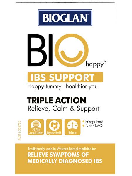 Bioglan BIO Happy IBS Support 50s