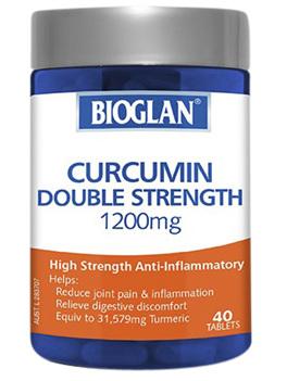 BIOGLAN - Curcumin Double Strength 1200mg 40s