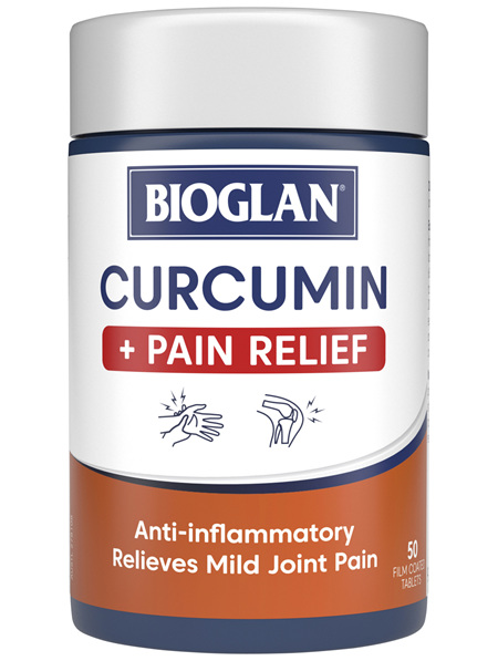 BIOGLAN - Curcumin Plus Pain Relief 50 Tablets
