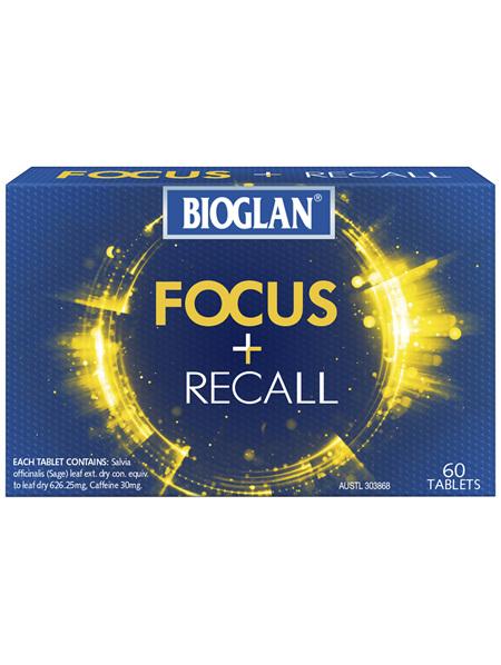 Bioglan Focus + Recall
