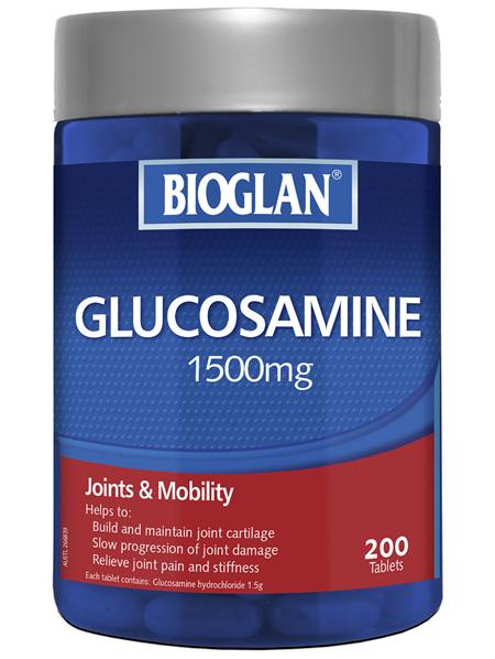 BIOGLAN - Glucosamaine 1500mg 200 Tablets