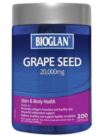 BIOGLAN Grapeseed 200s