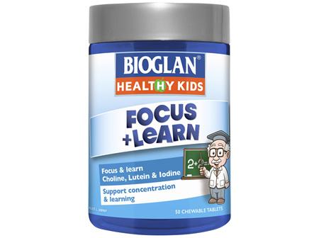 Bioglan Healthy Kids Focus & Learn Chewable 50s