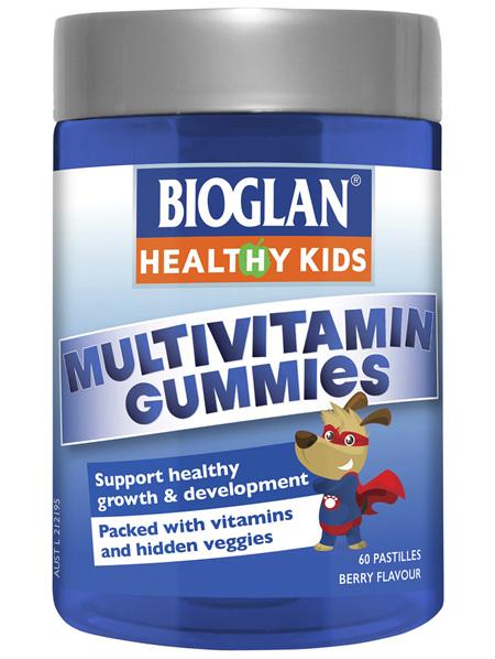 BIOGLAN Healthy Kids Multivitamin Gummies 60 Pack