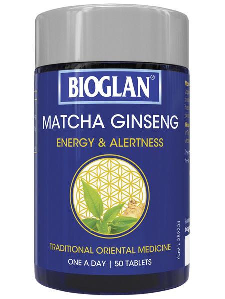 Bioglan Matcha Ginseng 50s