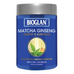 BIOGLAN Matcha Ginseng 50Tab