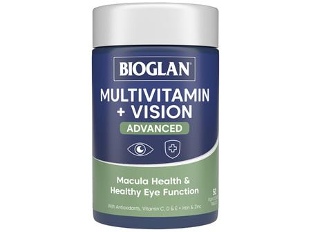 BIOGLAN Multivitamin + Vision Advanced 50 Tablets