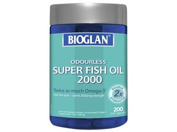 BIOGLAN - Odourless Super Fish Oil 2000 200s