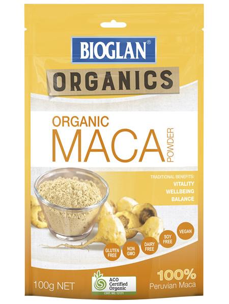 Bioglan Organics Maca Powder 100g