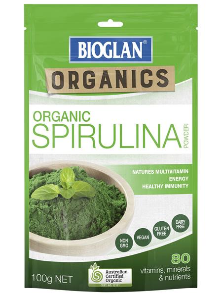 Bioglan Organics Spirulina 100g