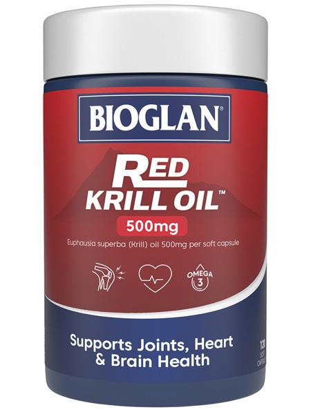 BIOGLAN Red Krill Oil 500mg 120s
