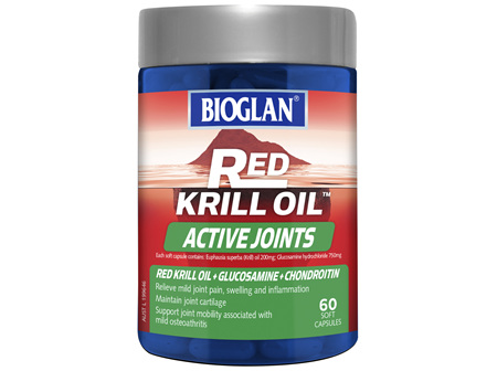 BIOGLAN - Red Krill Oil Active Joints 60s