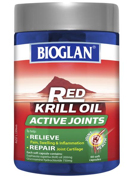 Bioglan Red Krill Oil Active Joints 60s