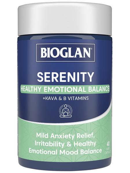 BIOGLAN Serenity 40 Hard Capsules