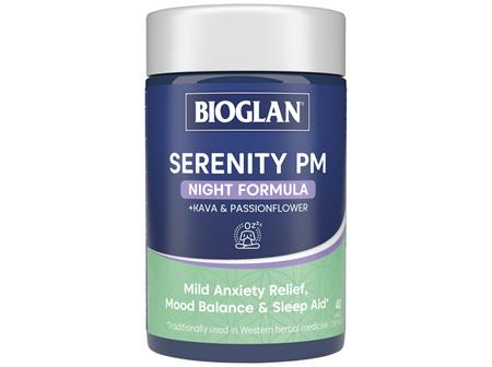 BIOGLAN Serenity PM 40 Hard Capsules