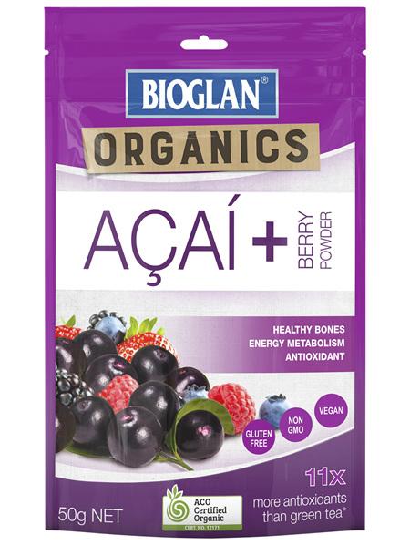 Bioglan SuperFoods Acai + Berry Powder 50g