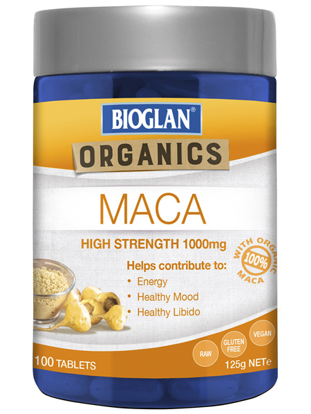 Bioglan SuperFoods Maca Tablets 100s