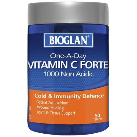 BIOGLAN - Vitamin C Forte Non Acidic 1000mg 50s
