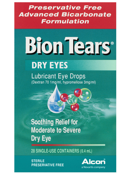 Bion Tears Lubricant Eye Drops 28 x 0.4mL