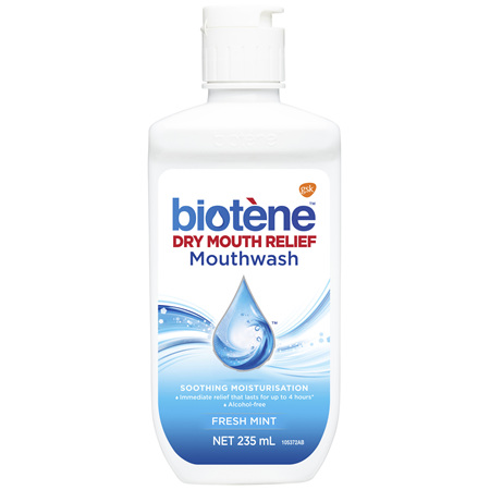 Biotene Dry Mouth Relief Mouthwash Fresh Mint 235mL