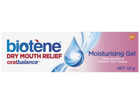 Biotene Dry Mouth Relief Oral Balance Moisturising Gel 42g