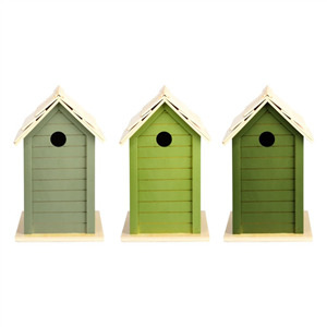 Bird House Dark Green