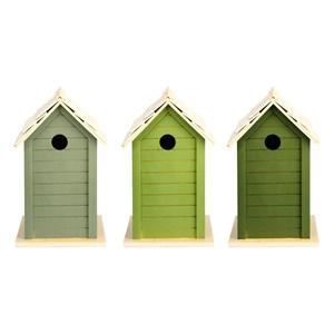 Bird House Dark Green