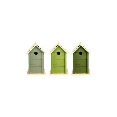 Bird House Light Green
