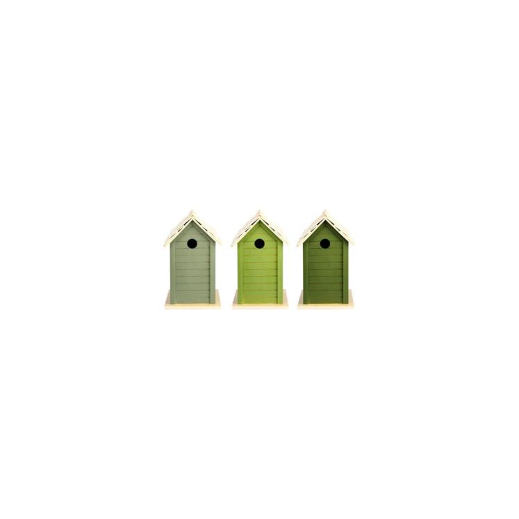 Bird House Mid Green