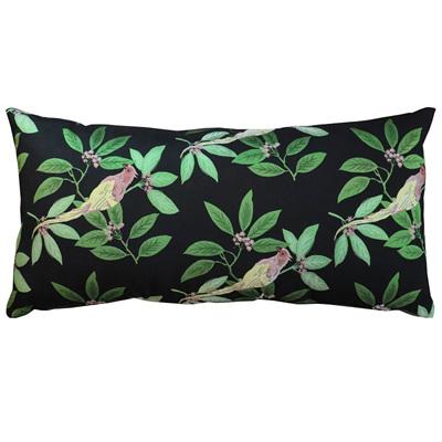 Bird & Leaf Cushion - 30.x 60cm