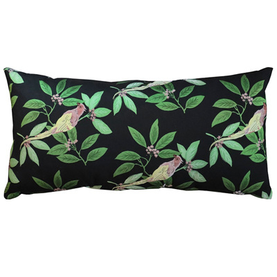 Bird & Leaf Cushion -  30X60cm